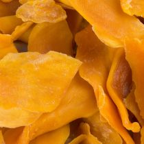 Dried mangoes are excellent fat-free alternatives to sugary snacks. With its sweet and non-acidic zest, this dried fruit product is rich in vitamin A. These fruit snacks are perfect for every occasion — You can serve these slices as appetizers, snacks or