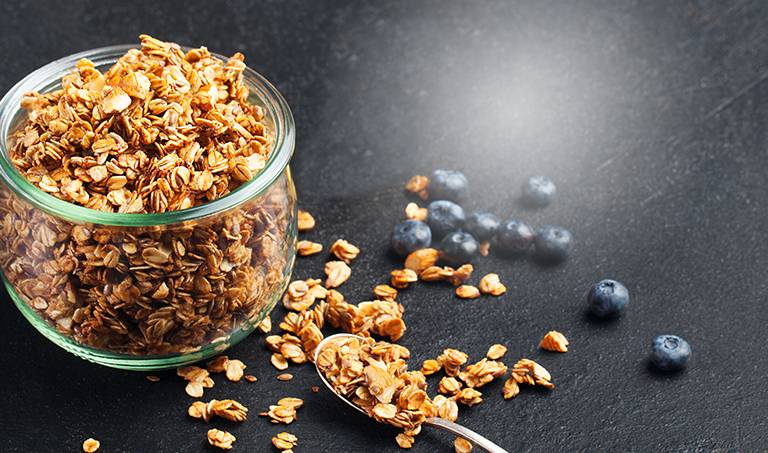 Save up to 20% on Golden Temple Granola for October!