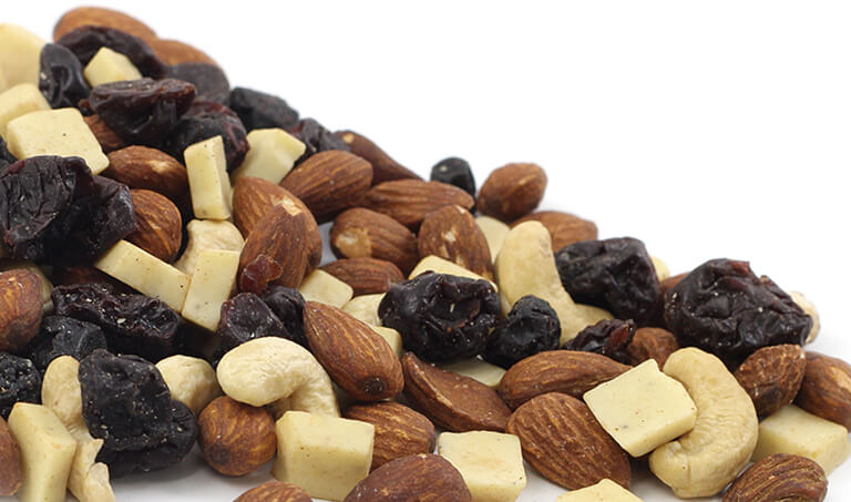 Save on our famous trail mix for the month of April. Organic and Non-GMO options!
