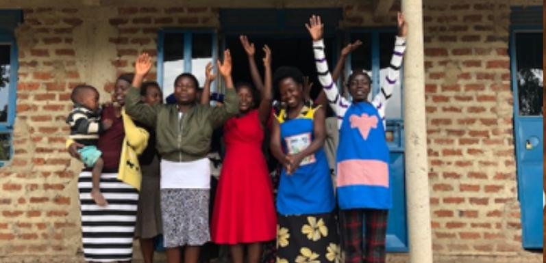 Dick and Pat teach Beekeeping and Sewing to Friends of Uganda
