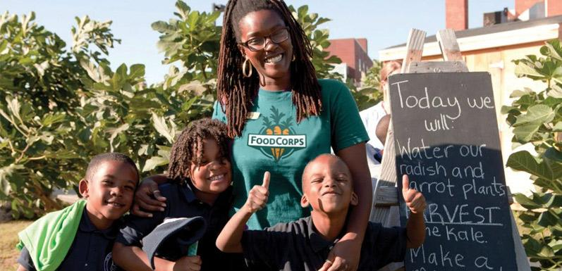 Don't Yuck my Yum!—FoodCorps gets kids excited about eating healthy